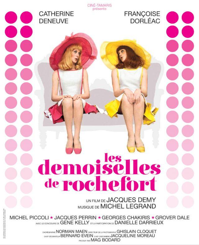 Les Demoiselles de Rochefort. MERCREDI 4 AOÛT À 21H15  Delphine et Solange sont des jumelles de 25 ans, ravissantes et spirituelles. Delphine, la blonde,... -