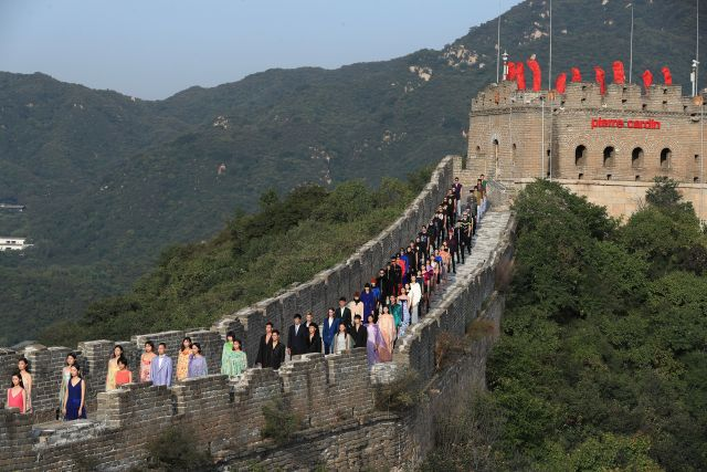 Great Wall of China Fashion Show - 2018
