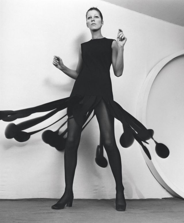 PIERRE CARDIN. Kinetic Wool Dress, 1970 - 2017