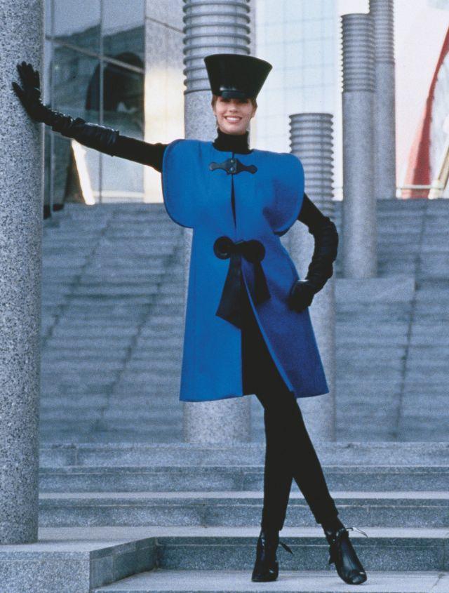 PIERRE CARDIN. Reversible sleeveless coat, 1992 - 2017