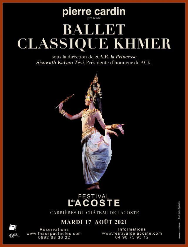 Ballet classique khmer. Mardi 17 août à 21h  L'association ACK (Arts et Culture Khmers) créée en 2017 a pour vocation la promotion et la sauvegarde... -