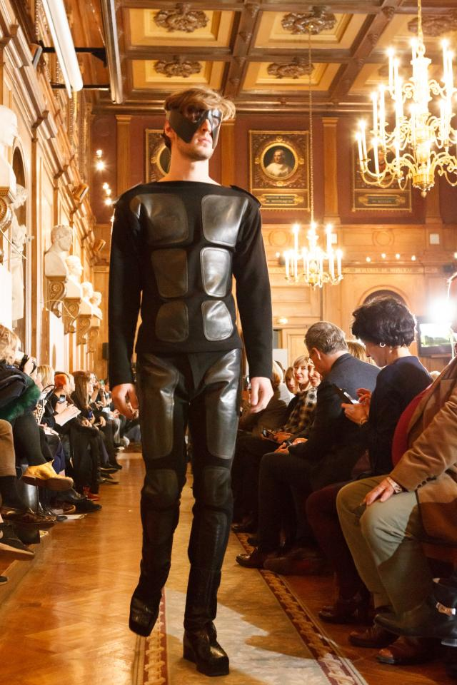 Throwback of 70 years of career. Fashion Show at Académie des Beaux Arts - 2016