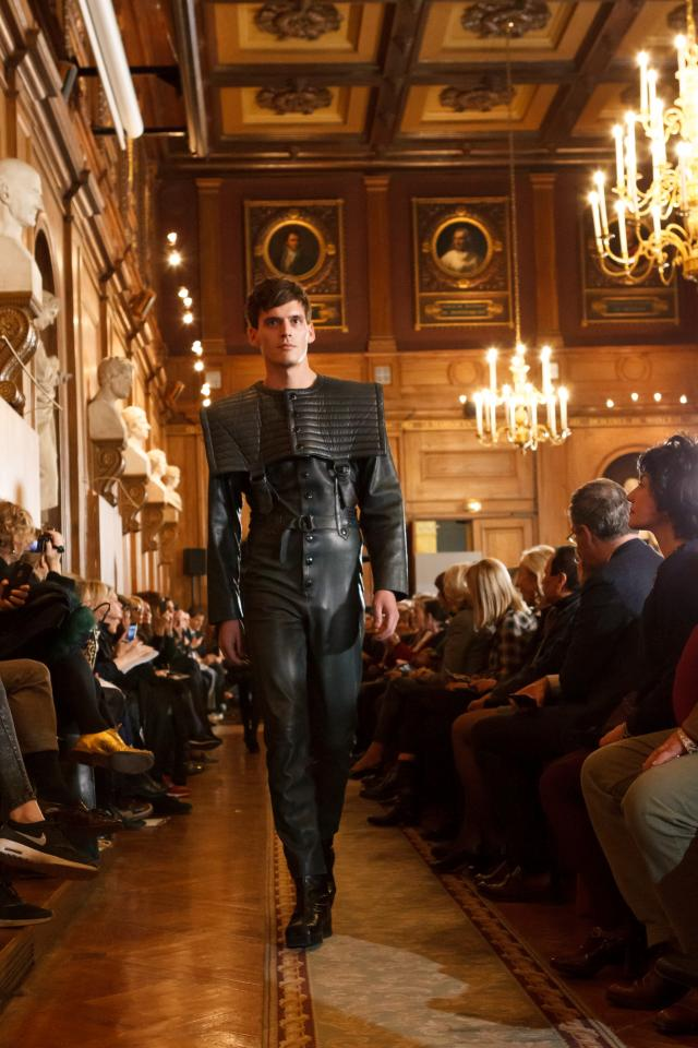 Throwback of 70 years of creation. Fashion Show at Académie des Beaux-Arts - 2016