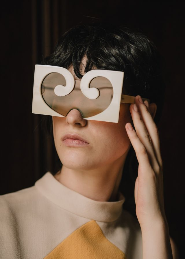 PIERRE CARDIN GLASSES. Pierre Cardin Haute Couture Creation -