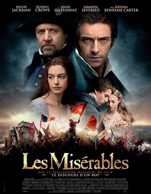 Les Miserables. LUNDI 2 AOÛT À 21H15  Ancien forçat, Jean Valjean, change d'identité et devient M. Madeleine. Tandis que l'Inspecteur Javert est toujours... -