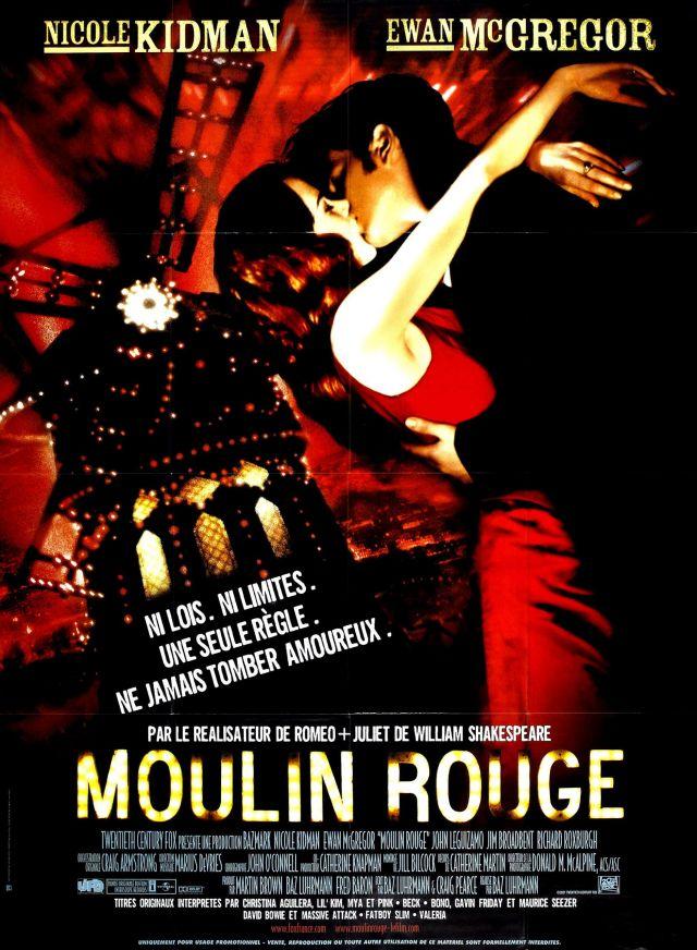 Moulin Rouge. SAMEDI 7 AOÛT À 21H15  A la fin du XIXe siècle, dans le Paris de la Belle Epoque, Christian, un jeune poète désargenté, s'installe... -