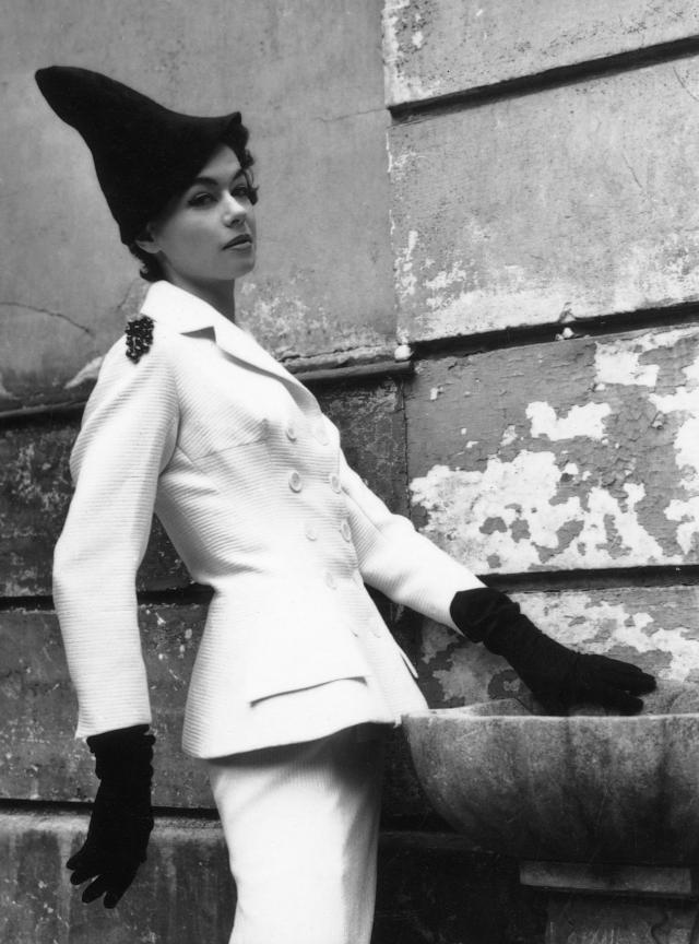 1952. Pierre Cardin Haute Couture Creation -