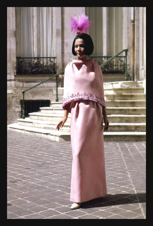 1959. Création Haute Couture Pierre Cardin Robe - 1959