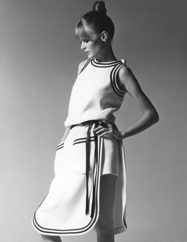 Dress. Haute couture Creation - 1965