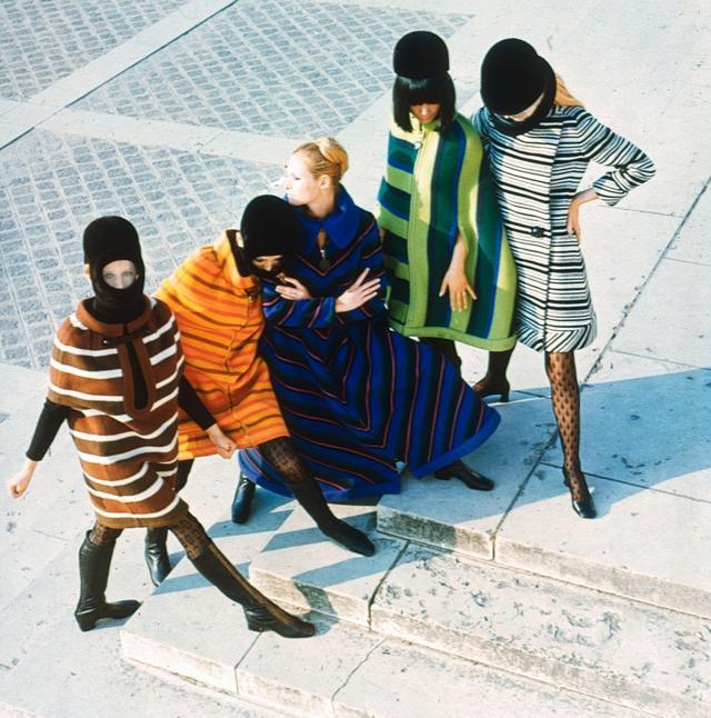 1966. Haute couture Creation Coats -