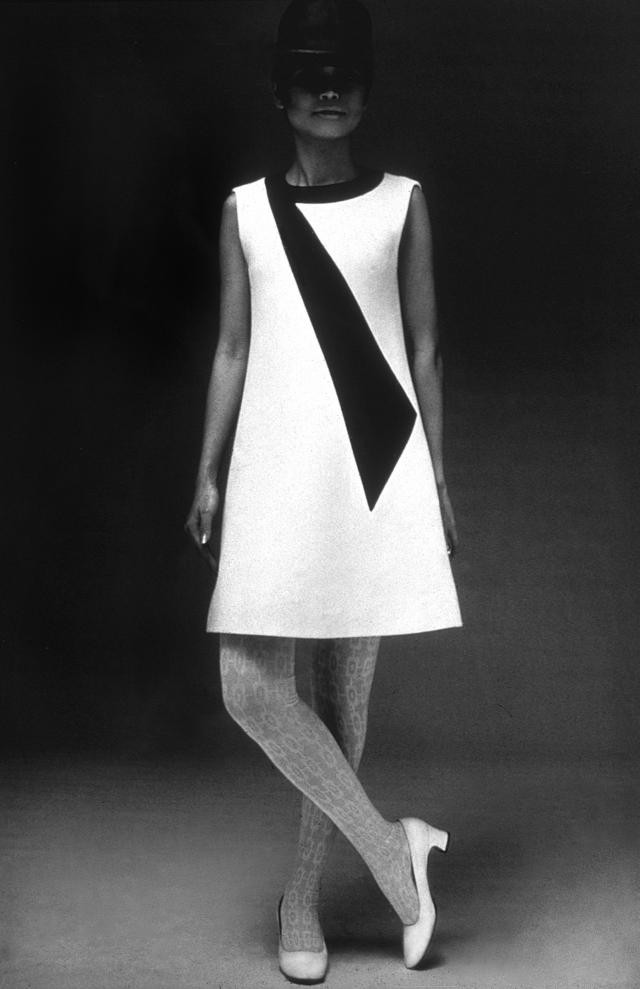 Dress. Haute couture Creation - 1967