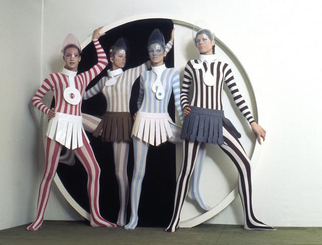Cardine Dresses. Haute couture Creation - 1968