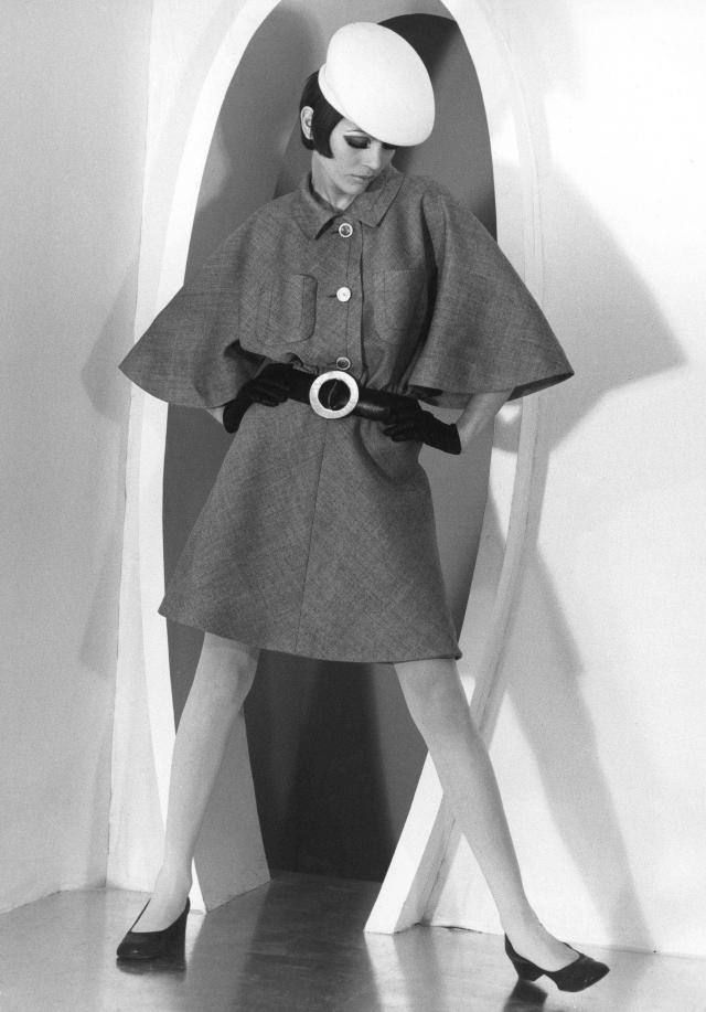 1968. Pierre Cardin Haute Couture Creation -