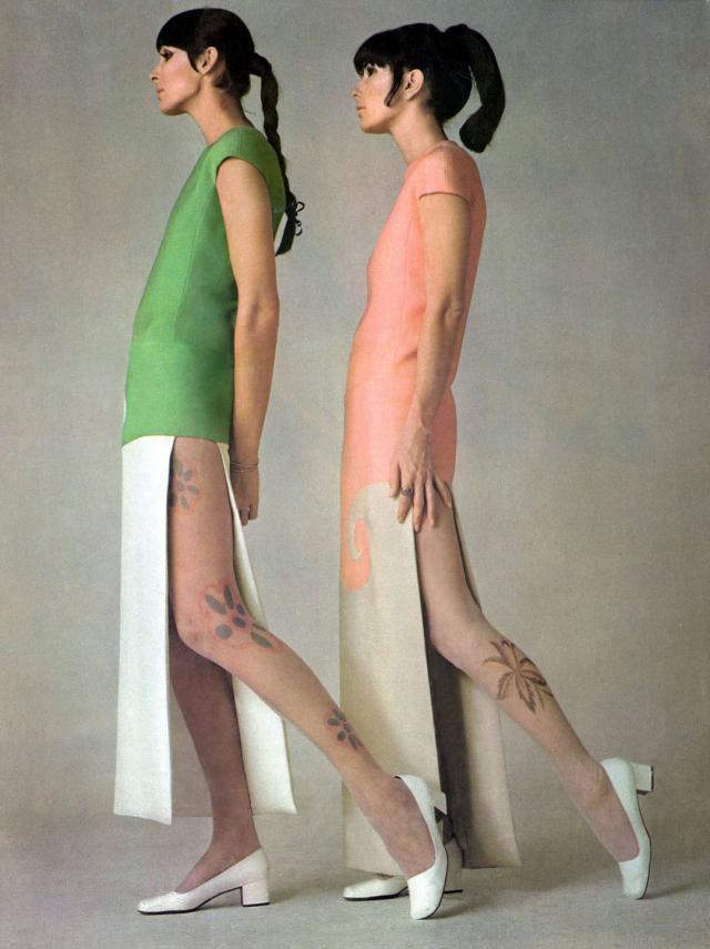 Dress. Haute couture Creation - 1969