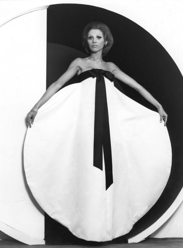 1969. Pierre Cardin Haute Couture Creation Dress -