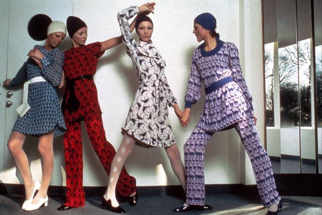 1970. Haute couture Creation - 1970