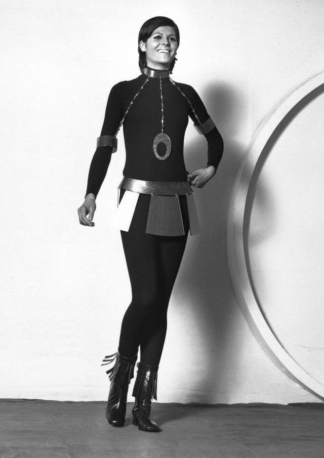 Collier. Création Haute Couture Pierre Cardin - 1970
