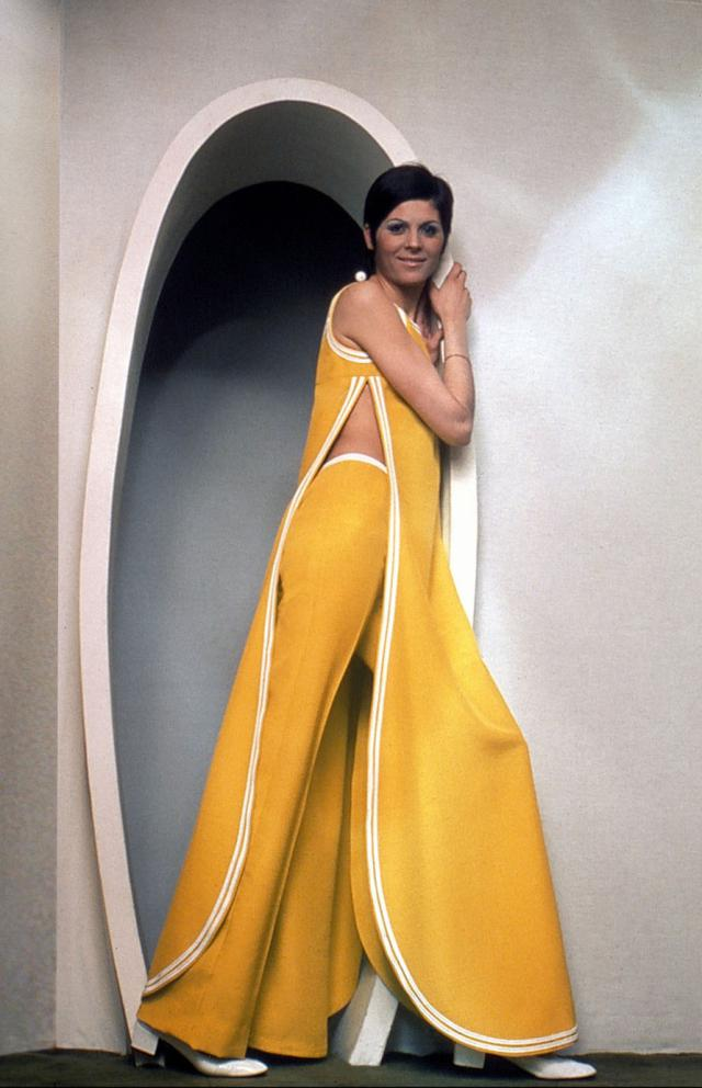 1971. Pierre Cardin Haute Couture Creation Dress -