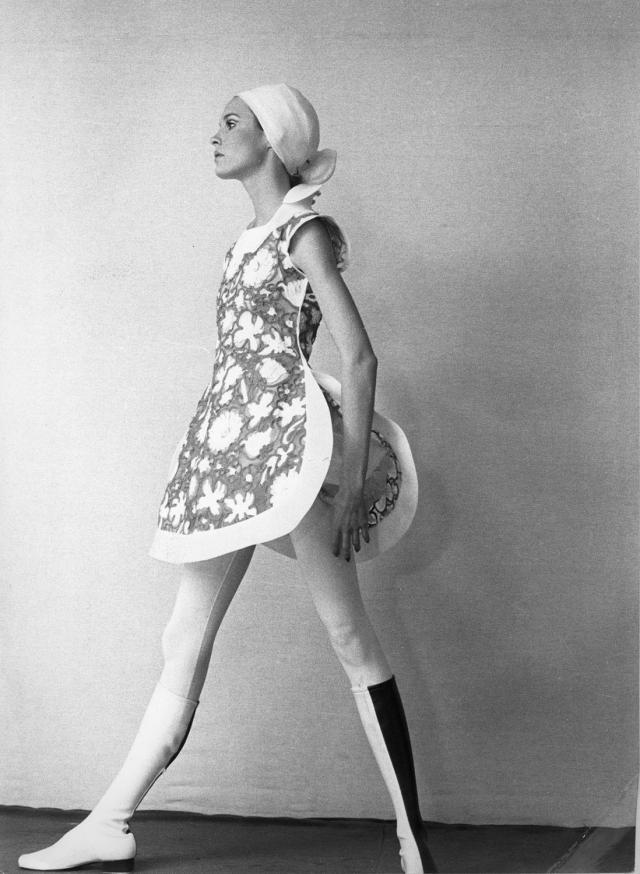 Dress. Haute couture Creation - 1971