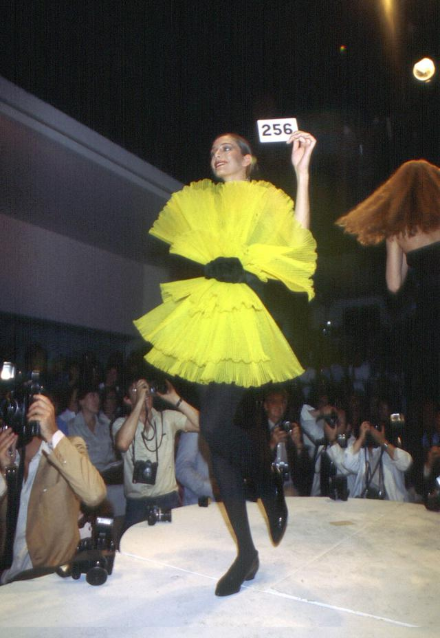 1980. Pierre Cardin Haute Couture Creation Dress -