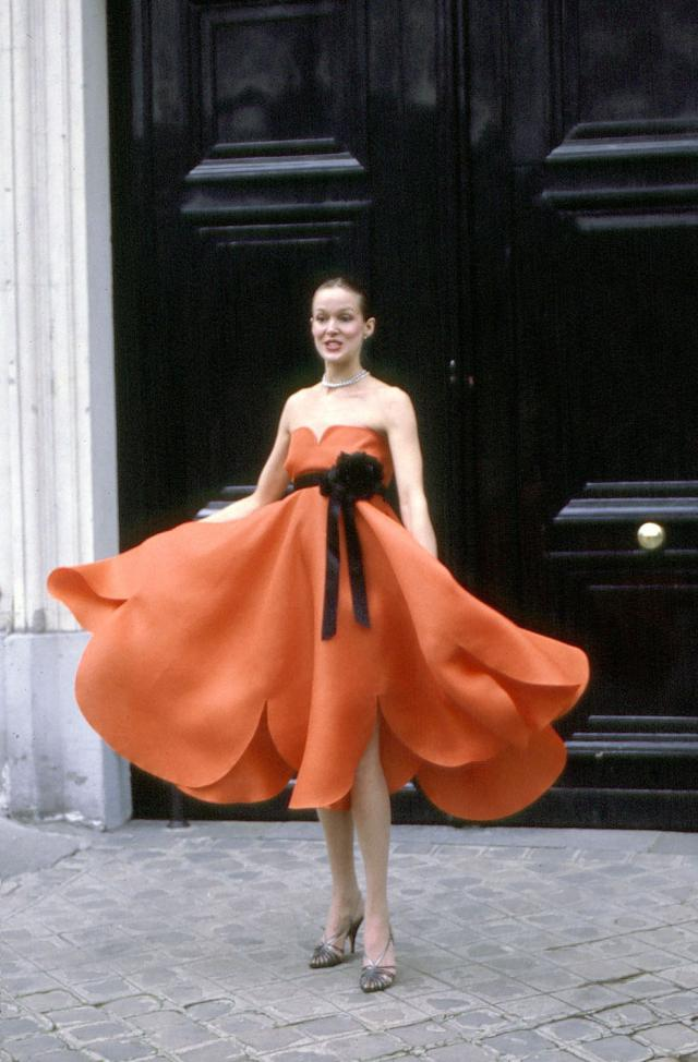 Dress. Haute couture Creation - 1980