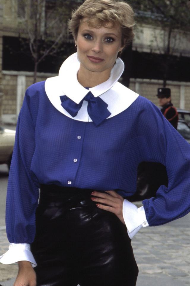 Blouse. Haute couture Creation - 1980