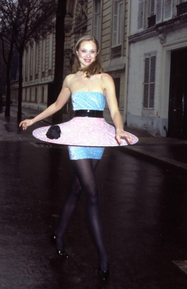 Dress. Haute couture Creation - 1981
