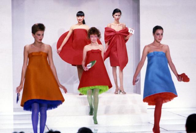 Dress. Haute couture Creation - 1982