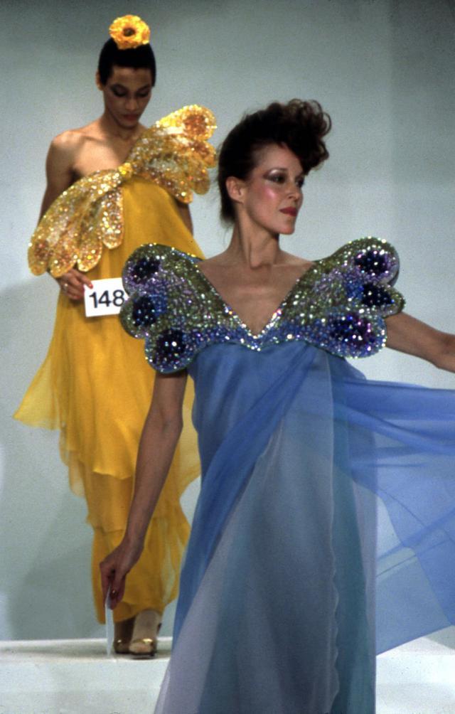 1982. Haute couture Creation Evening dresses -