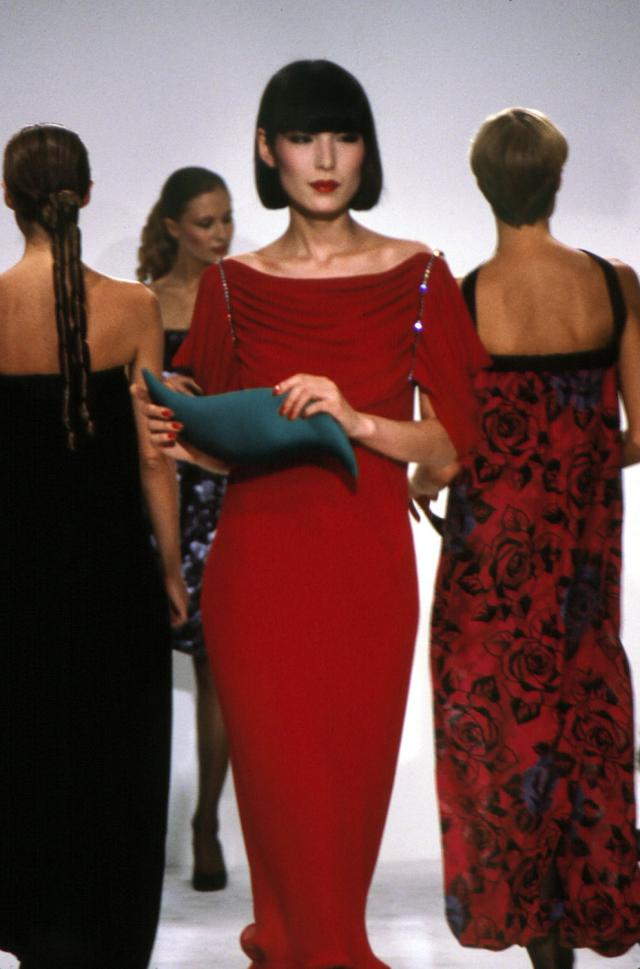 1982. Pierre Cardin Haute Couture Creation Evening dress -