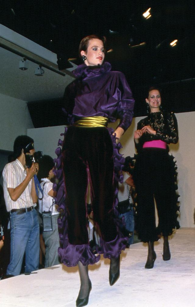 Coverall. Haute couture Creation - 1984