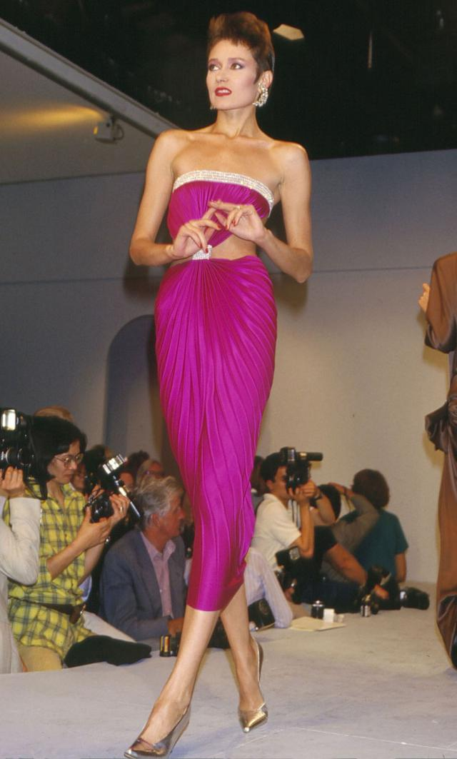Dress. Haute couture Creation - 1985