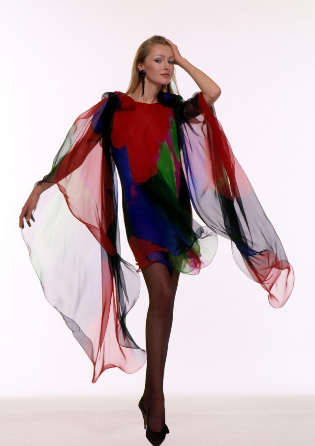 Dress. Haute couture Creation - 1988