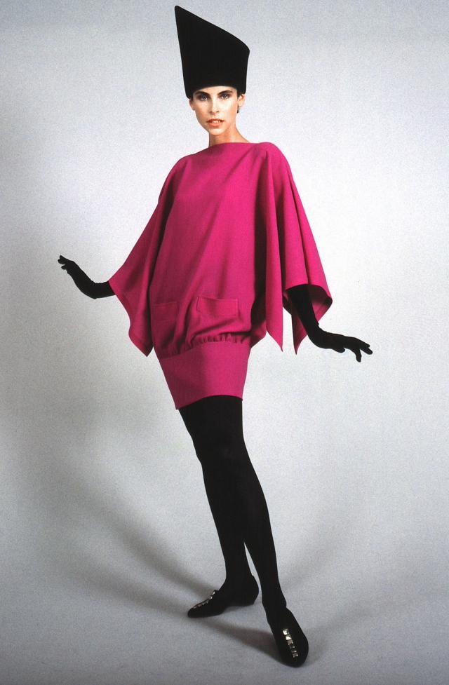 1990. Création Haute Couture Pierre Cardin Robe -