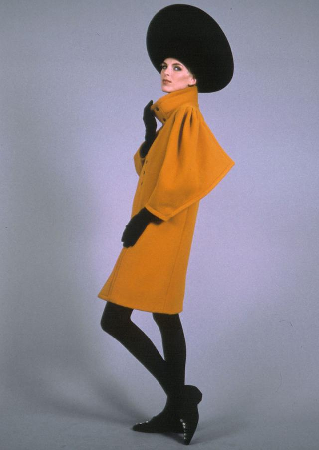 1990. Haute couture Creation Coat - 1990