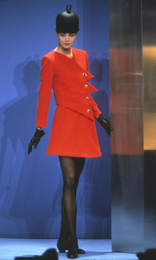 1991. Pierre Cardin Haute Couture Creation Skirt suit - 1991