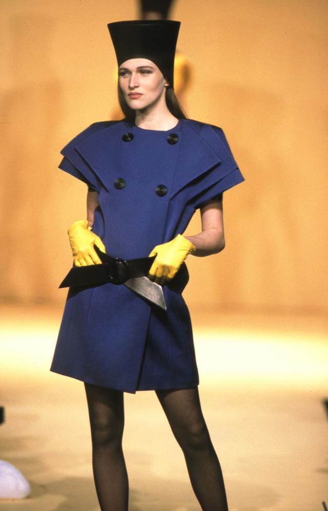 1992. Haute couture Creation Dress-Coat -