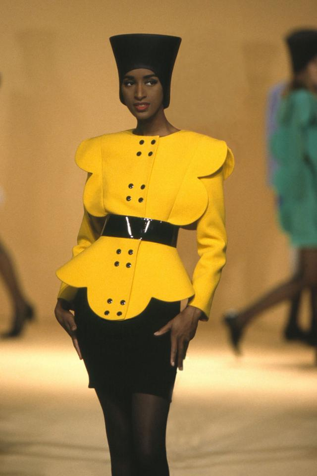 1992. Pierre Cardin Haute Couture Creation Suit -