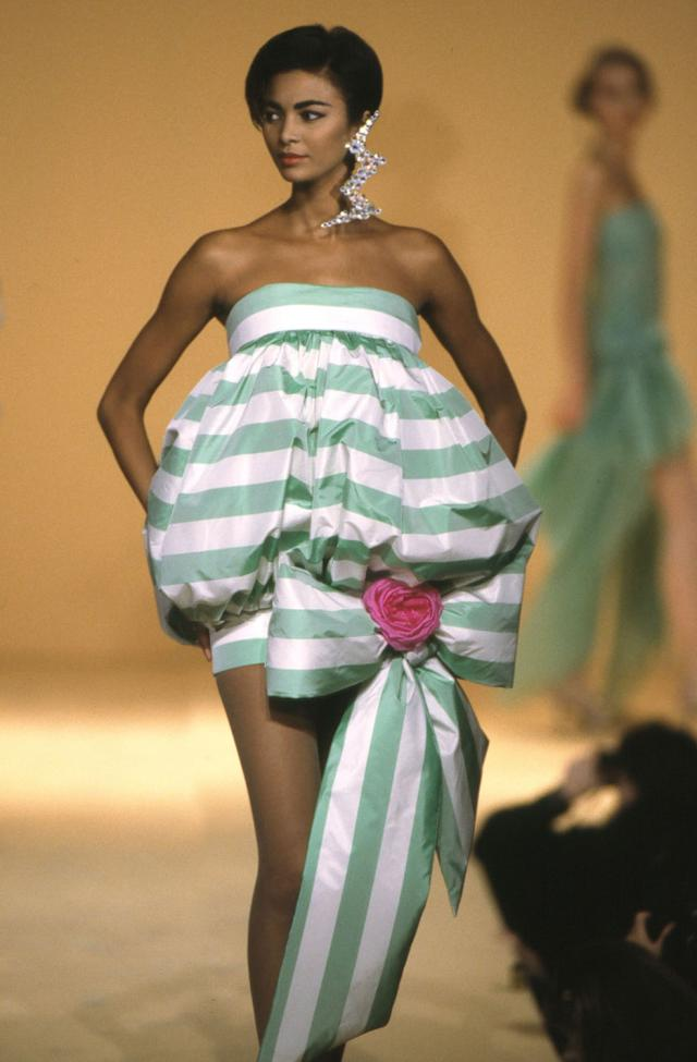 Dress. Haute couture Creation - 1992