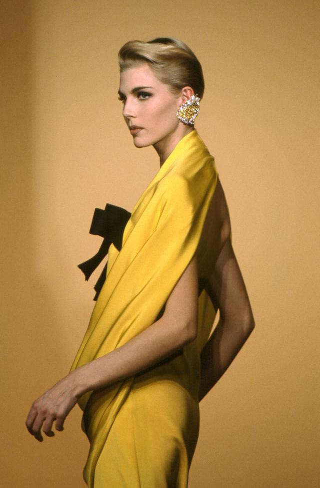 1992. Pierre Cardin Haute Couture Creation Dress -