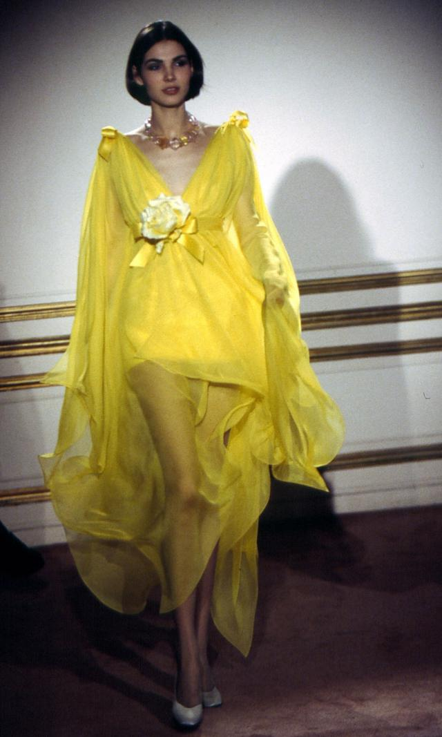 1994. Pierre Cardin Haute Couture Creation Dress - 1994