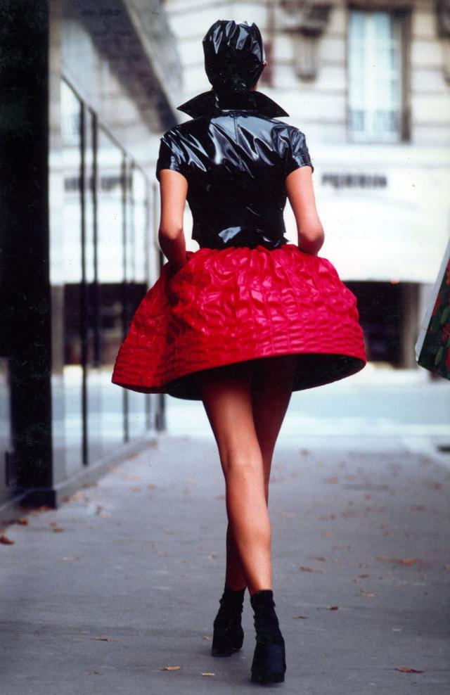 1996. Pierre Cardin Haute Couture Creation Dress -