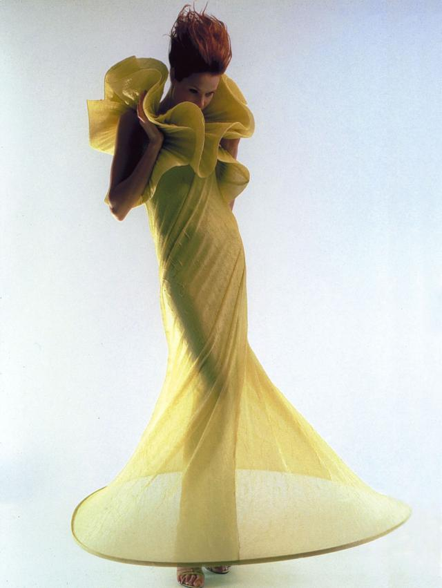 1997. Pierre Cardin Haute Couture Creation Dress -
