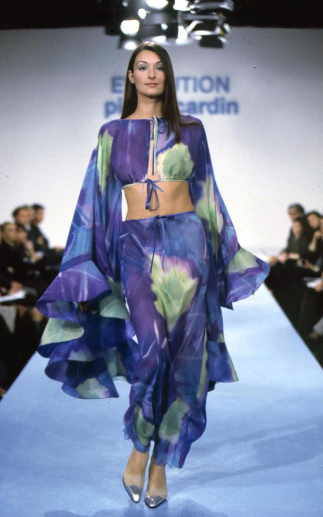 1999. Pierre Cardin Haute Couture Creation Evening dress - 1999