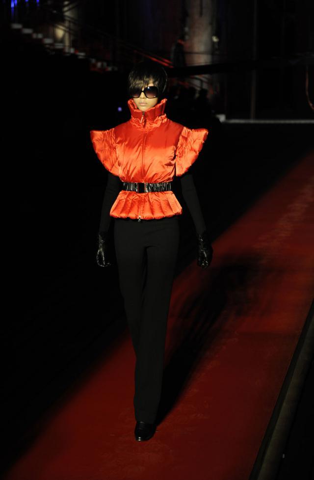 "Fashion show ""De Sade"" collection. Haute couture Creation - 2008"