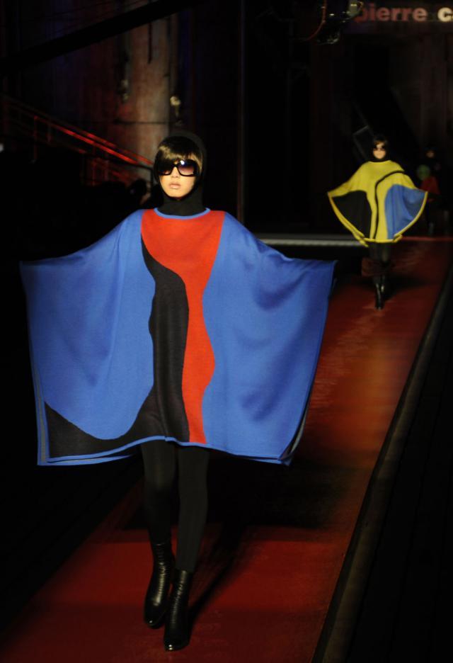 "2008. Pierre Cardin Haute Couture Creation Fashion show ""De Sade"" -"
