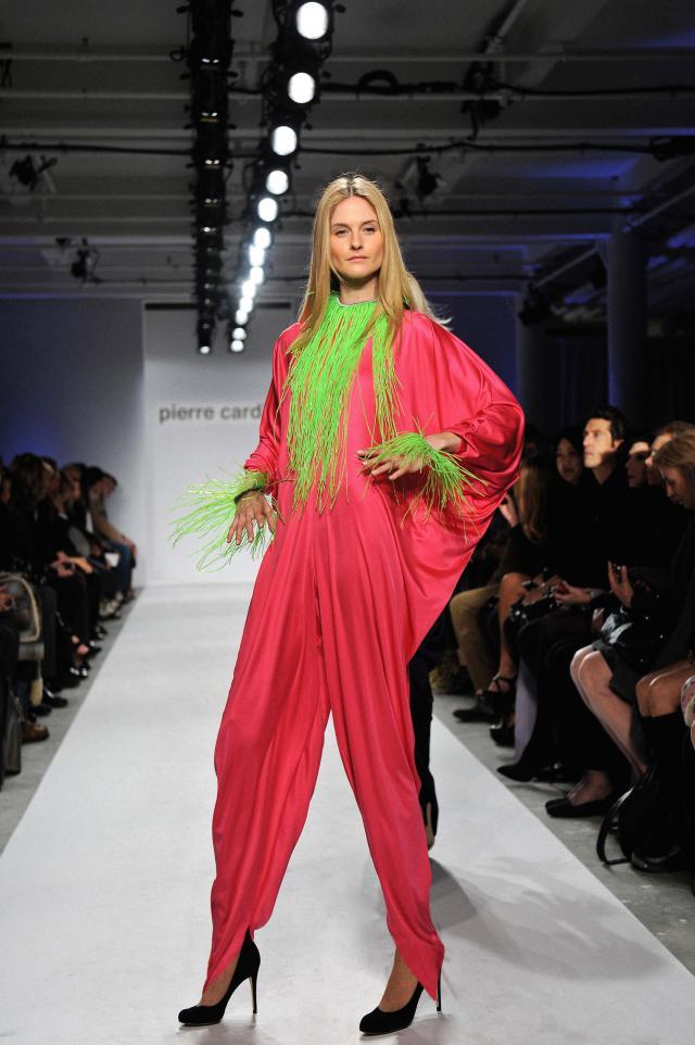 2010. Pierre Cardin Haute Couture Creation -