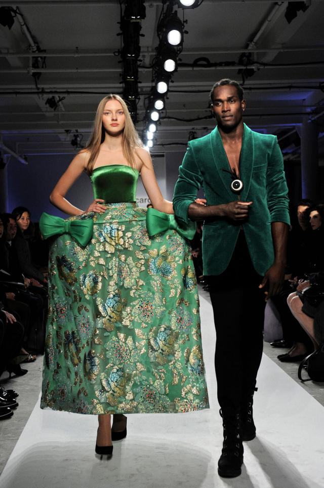 2010. Pierre Cardin Haute Couture Creation Fashion show in New-York 2010/2011 -