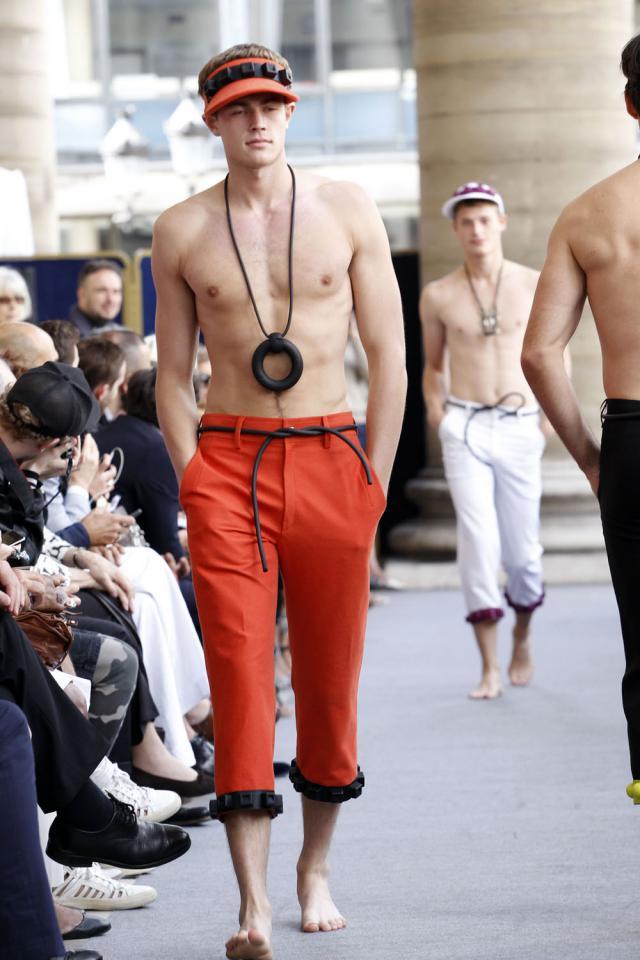 Défilé Tranoï au Palais Brongniart. Création Haute Couture - 2012