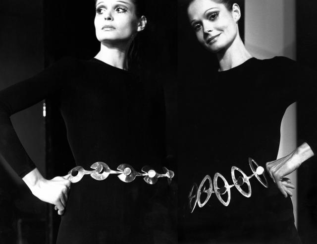 Belts. Pierre Cardin Haute Couture Creation -